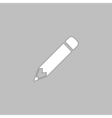 Pencil computer symbol vector image