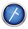 Police baton icon vector image vector image