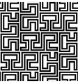 Seamless Geometric Pattern by Stripes vector image vector image