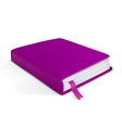 volume small notebook vector image vector image