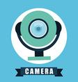 web cam vector image