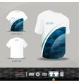 Abstract uniform t-shirt design vector image vector image