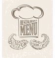 Cooks design for your restaurant vector image