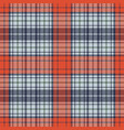 diagonal fabric textile check seamless pattern vector image vector image