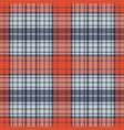 diagonal fabric textile check seamless pattern vector image vector image