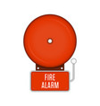 fire alarm system vector image vector image
