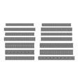 greek key seamless borders traditional meander vector image
