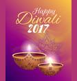 happy diwali 2017 festival vector image vector image