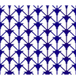 indigo pattern vector image