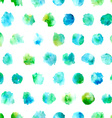 Seamless pattern of watercolor circles