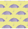 ultra violet umbrella seamless pattern vector image vector image