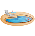 A swimming pool vector | Price: 1 Credit (USD $1)