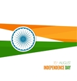 Abstract background with the symbol of India vector image vector image