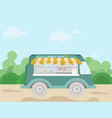 bakery bus vector image