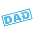 Dad Rubber Stamp vector image vector image