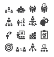 manage icon vector image vector image