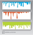 Paint colorful dripping background vector image vector image