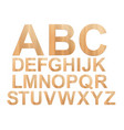 plywood abc vector image vector image