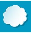 Round cloud icon vector image vector image
