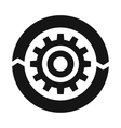 Setting parameters icon simple style vector image vector image