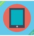 Tablet icon - Flat design vector image vector image