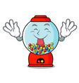 tongue out gumball machine mascot cartoon vector image vector image