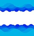 Water wave design vector image vector image