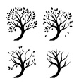 Abstract tree design vector image vector image