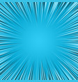 blue color burst background vector image vector image