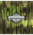 Camouflage military pattern background with vector image vector image