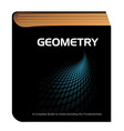 geometry book vector image