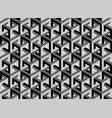 impossible cubes pattern isometric background 3d vector image vector image