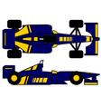 racing vehicle vector image vector image