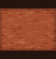 red blank brick wall industrial construction vector image