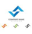 s letter logo design vector image vector image