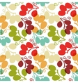Seamless Pattern with Grape vector image vector image