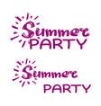 summer party clip art vector image