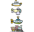 Toy Transportation vector image vector image