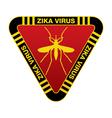Zika Virus Sign vector image vector image
