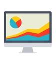 FInancial Data Icon vector image