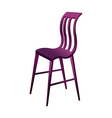A chair is placed vector image vector image