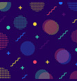abstract colorful seamless geometric pattern in vector image