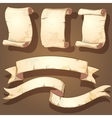 ancient scrolls vector image