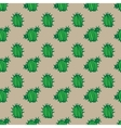 background cactus pattern vector image