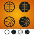 Basketball sign vector | Price: 1 Credit (USD $1)