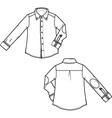 blousemen vector image vector image