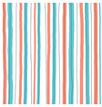 hand draw seamless striped vertical line pattern vector image