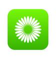 waiting download icon digital green vector image vector image