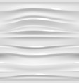 white glossy seamless texture wavy background vector image