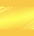 yellow modern stripe dynamics background vector image